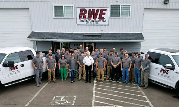 Rite Way Electric Inc Company Background Albany Or
